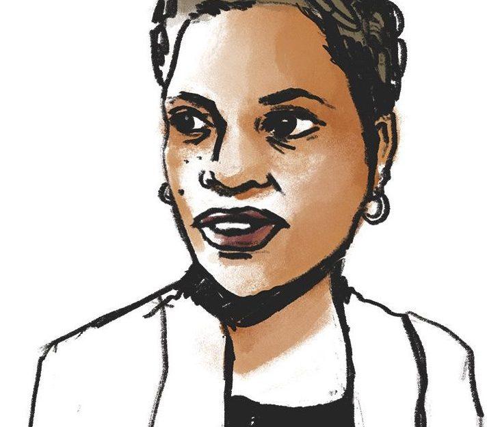Illustration of Michelle Alexander